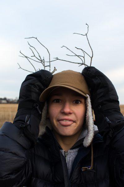 Twig Antlers - Finding Silver Pennies