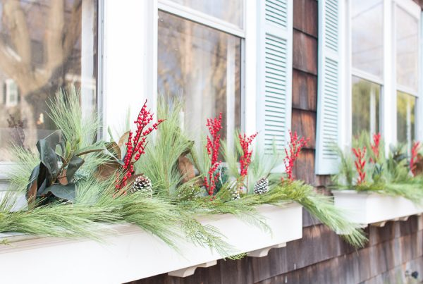 Simple & Classic Window Boxes - how to get this look I Finding Silver Pennies