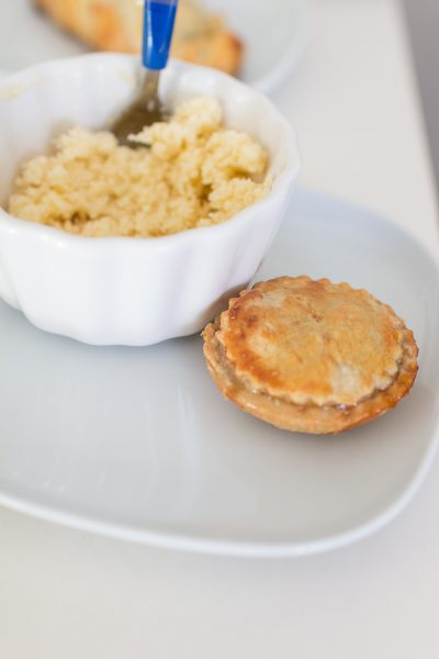 Easy Mince Pies with Brandy Butter - Finding Silver Pennies