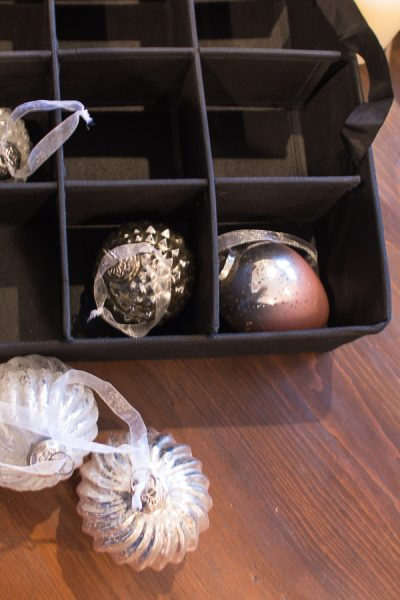 Easy Storage for your favorite ornaments - Finding Silver Pennies