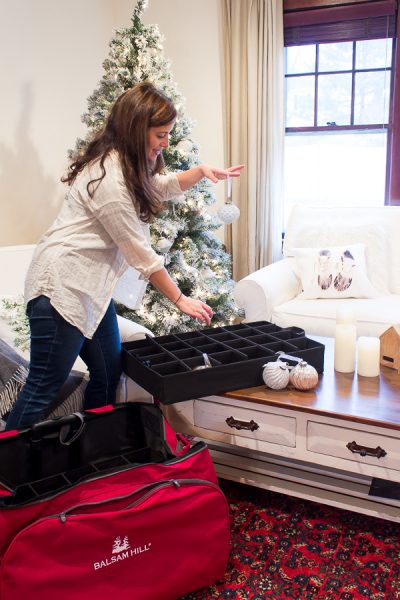 Organizing and decluttering after Christmas - Finding Silver Pennies