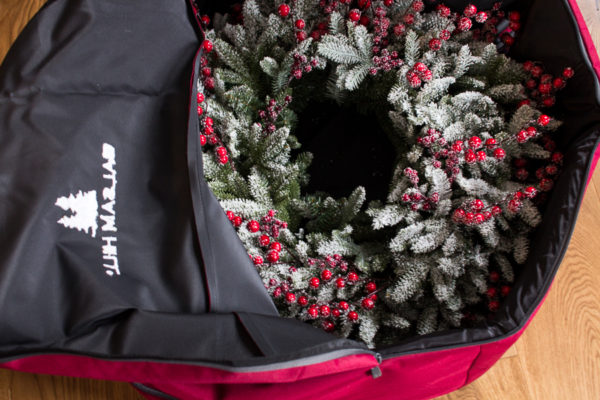Double Wreath Storage - Finding Silver Pennies