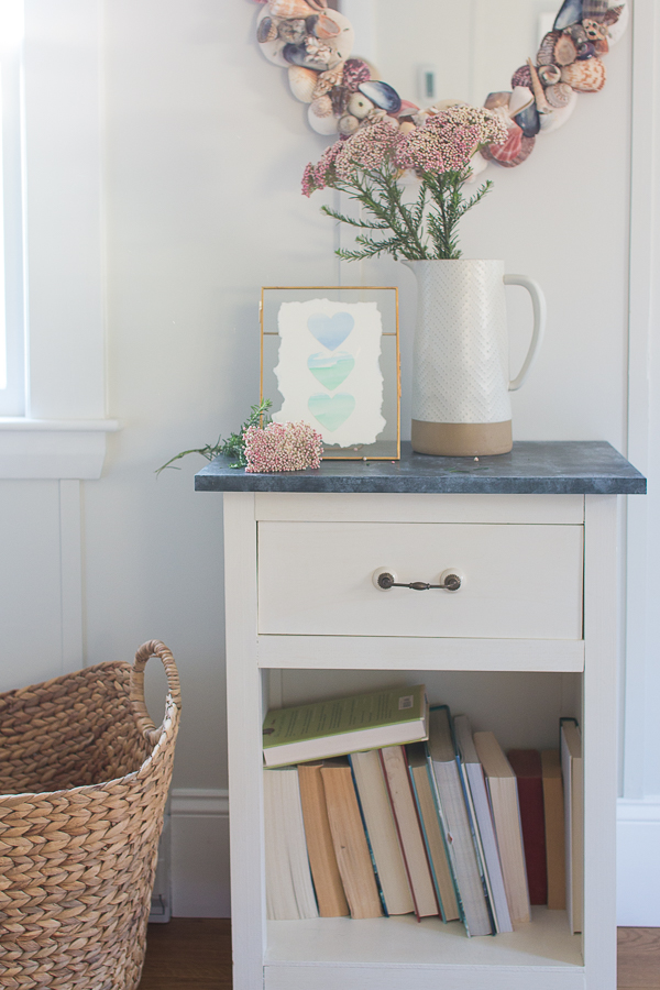 Rice Flowers, DIY Watercolor Hearts and books - Finding Silver Pennies