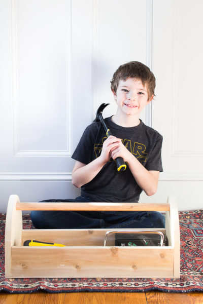 Kid's First Toolbox (Build Plans)