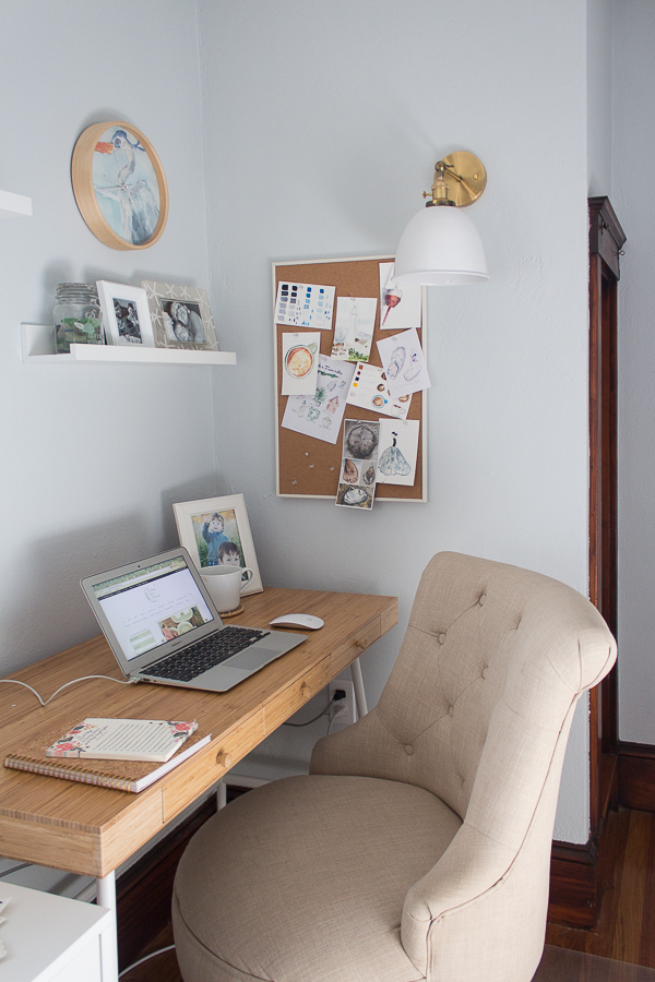 Where I Blog and Write - Where Women Create Feature - Finding Silver Pennies