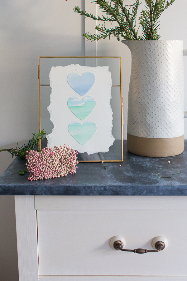 A beautiful handmade valentine's day gift - Finding Silver Pennies