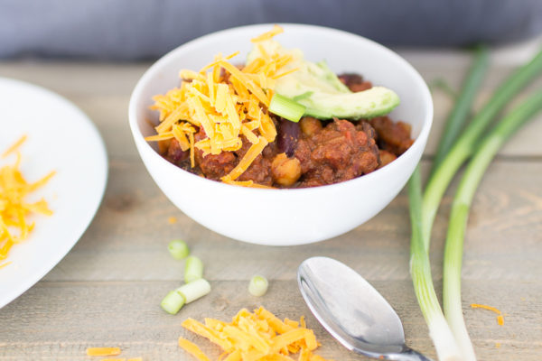 Healthy Three Bean and Beef Chili - Finding Silver Pennies