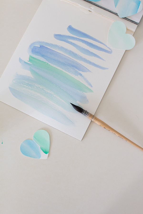 Pretty Watercolor Craft - Finding Silver Pennies