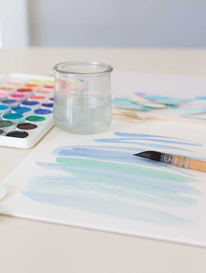 How to Create Watercolor Hearts - Finding Silver Pennies