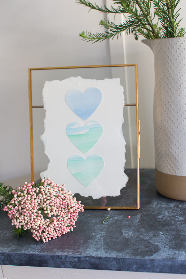 Gorgeous Valentine's Art - Finding Silver Pennies