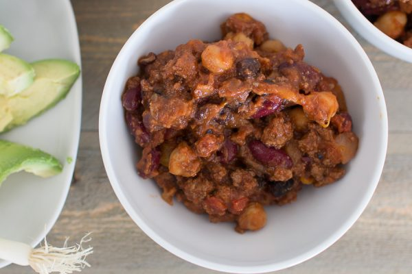Beef Chili with Lots of Bean - Finding Silver Pennies