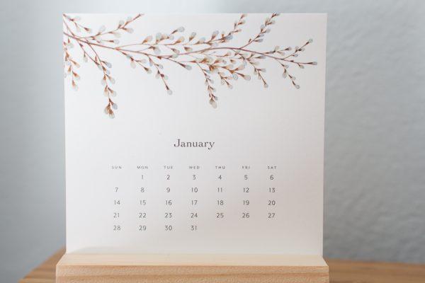 Desk calendar by Felix Doolittle - Finding Silver Pennies