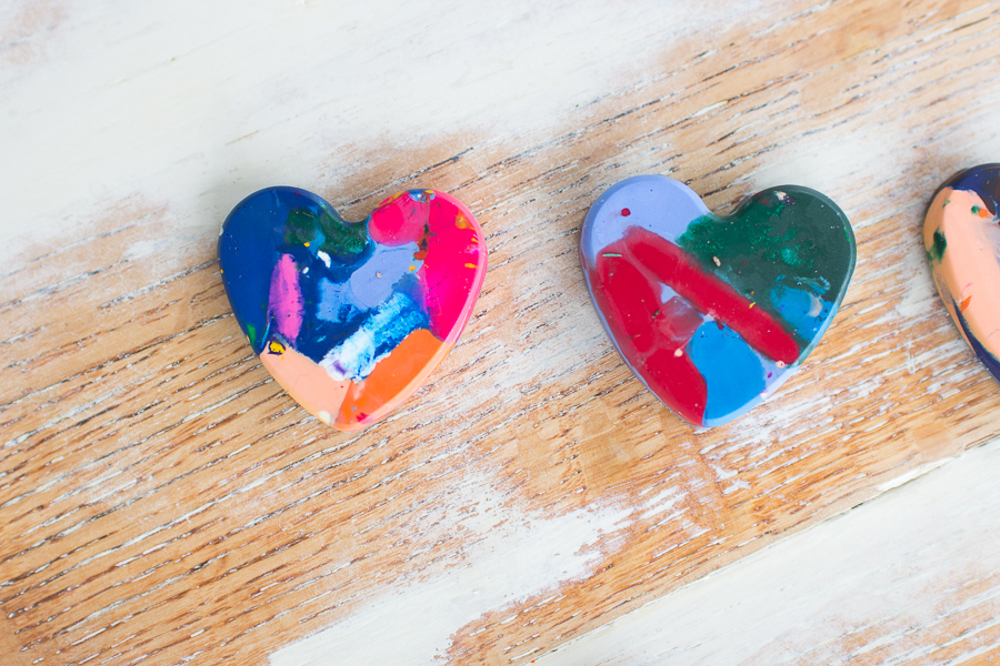 Fun and Festive DIY Heart Crayons I Finding Silver Pennies