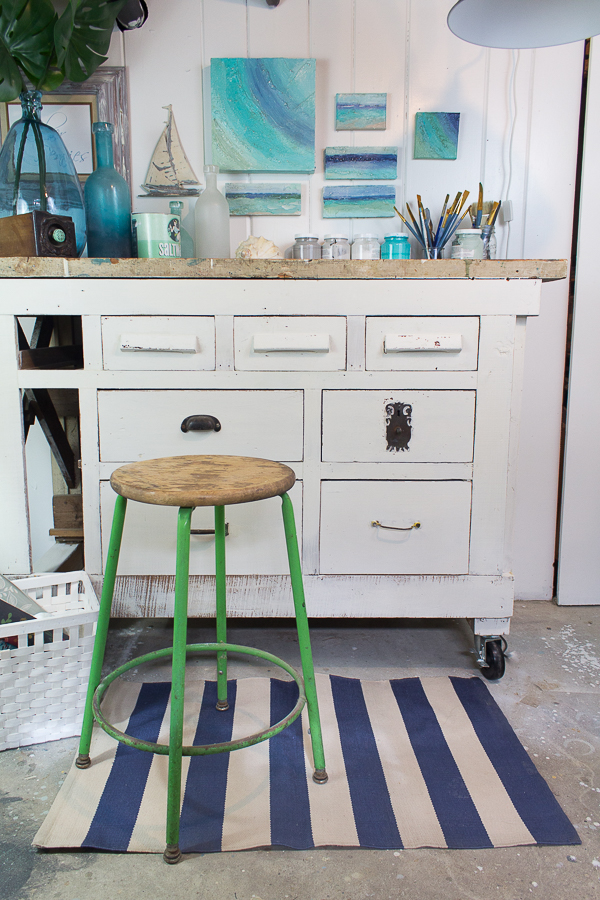 How to Refresh Vintage Pieces with Milk Paint I Finding Silver Pennies