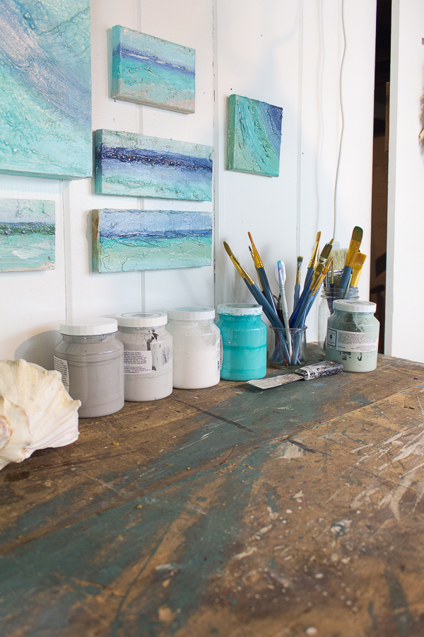 Creating in my Studio I Finding Silver Pennies