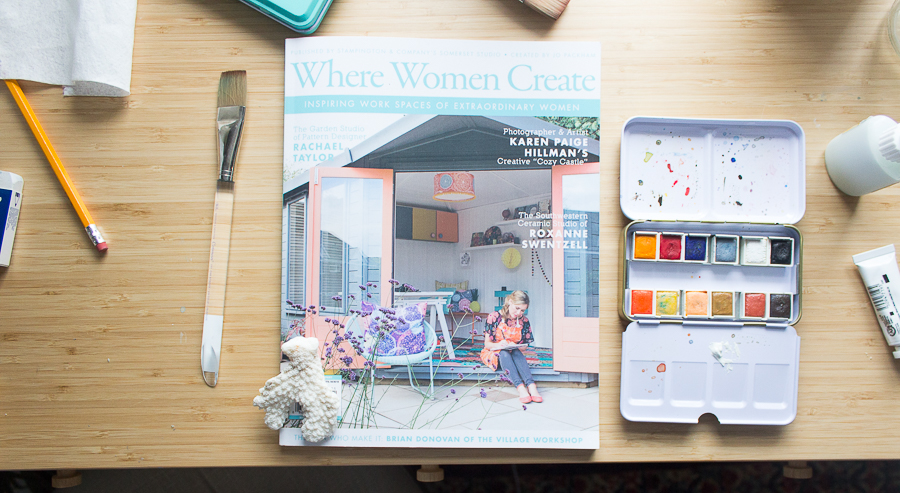 Where Women Create Feature - Finding Silver Pennies