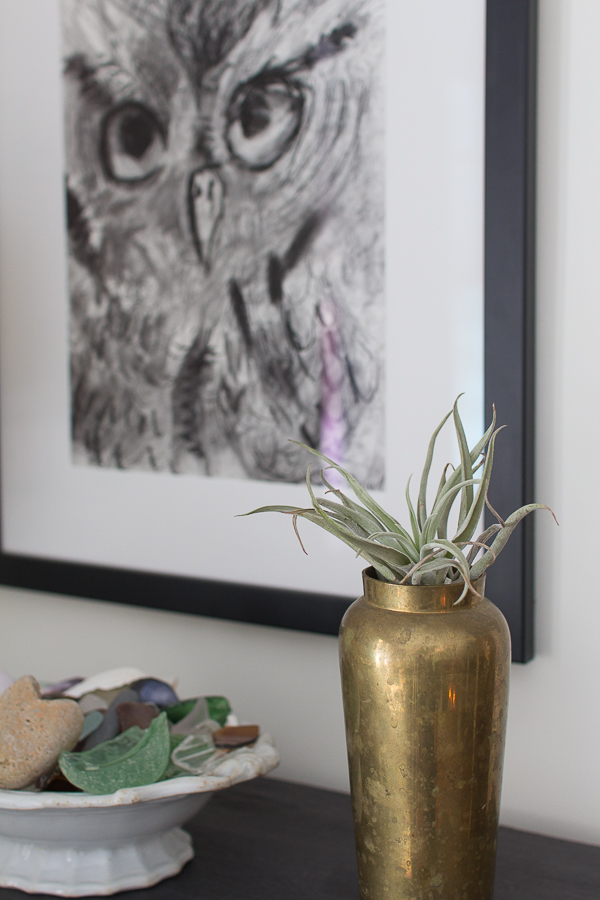 Decorating with Nature in Living Room I Finding Silver Pennies