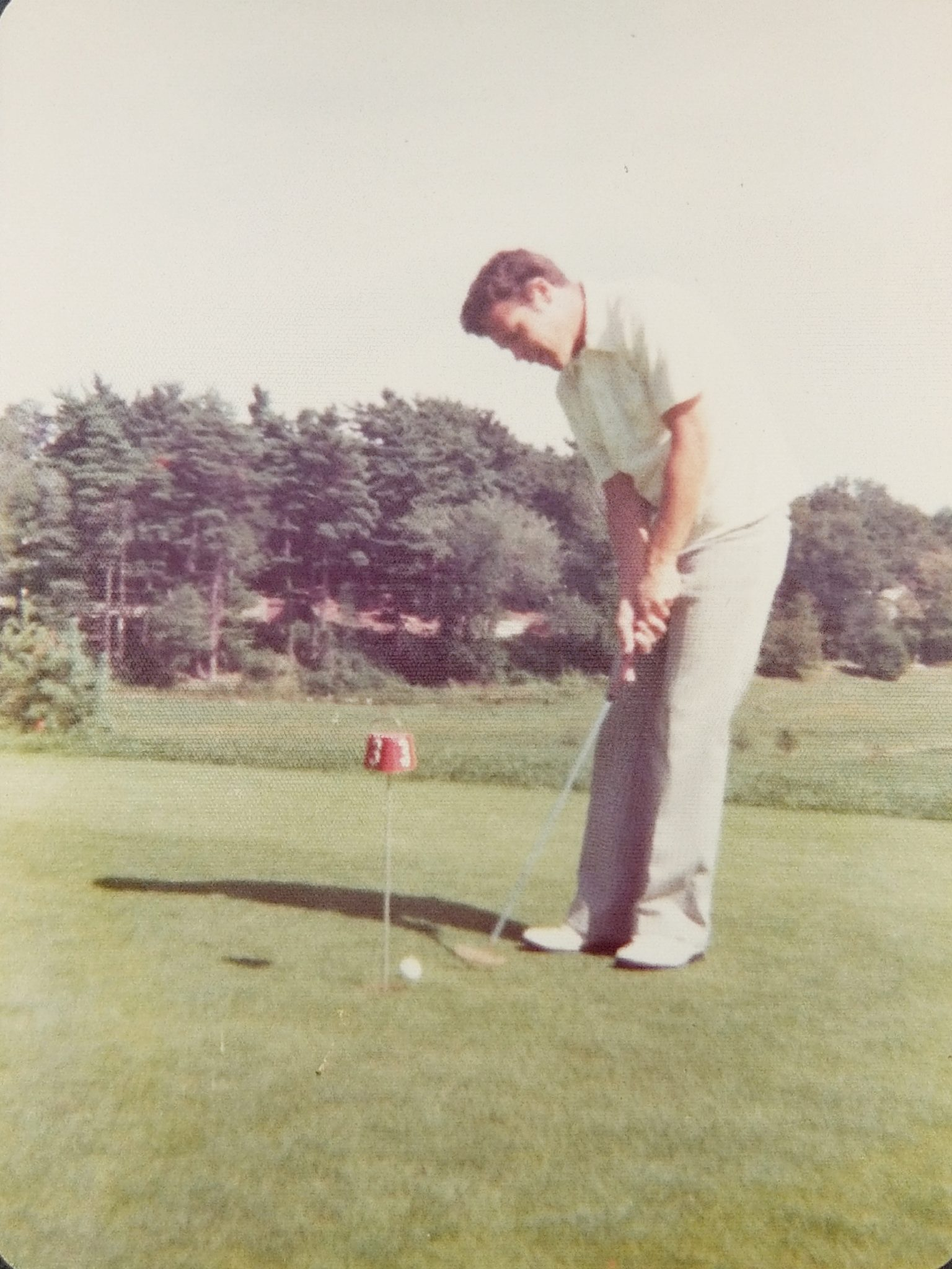 My Dad Enjoying A Round of Golf - Finding Silver Pennies