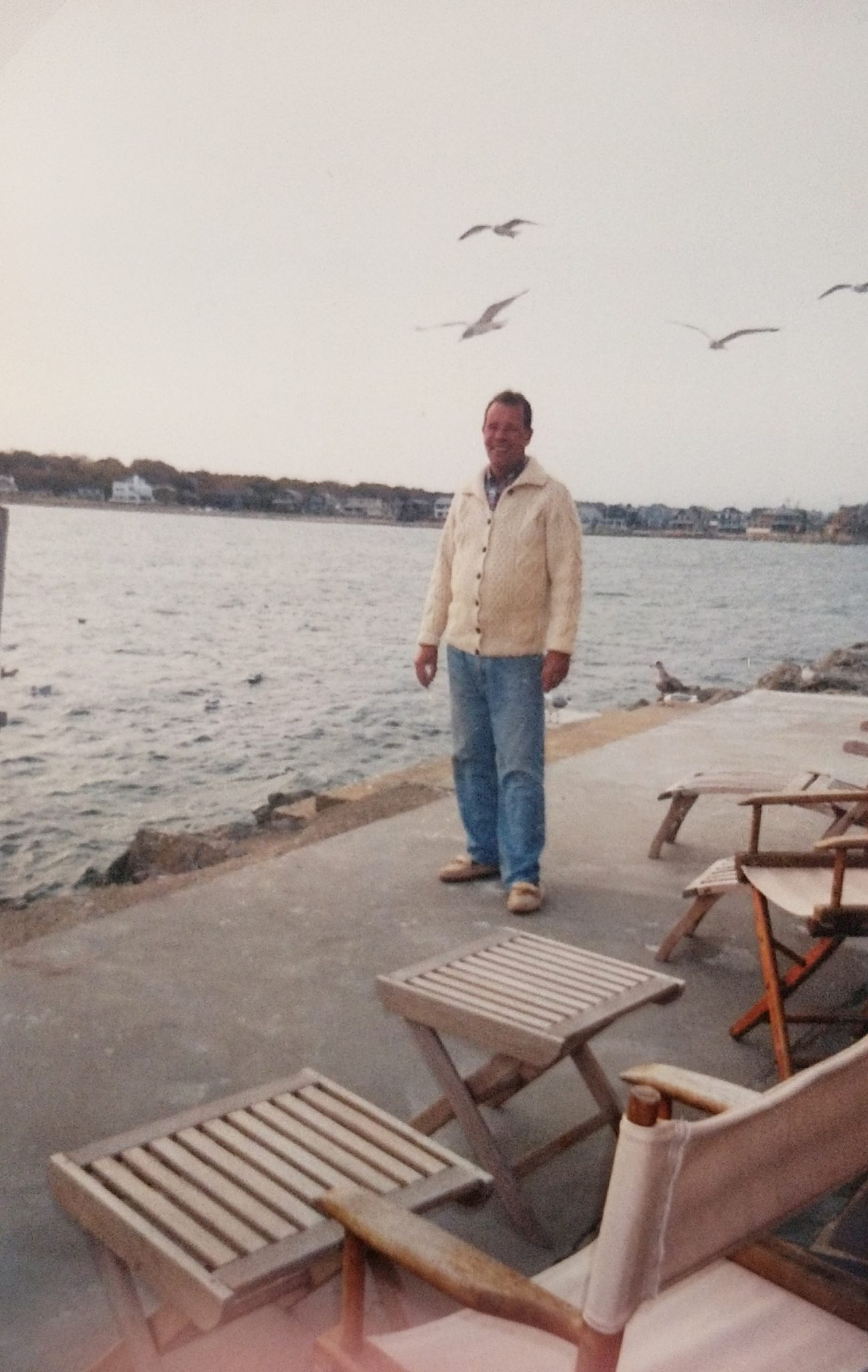 My Father and His Favorite Home on Scituate Harbor - Finding Silver Pennies