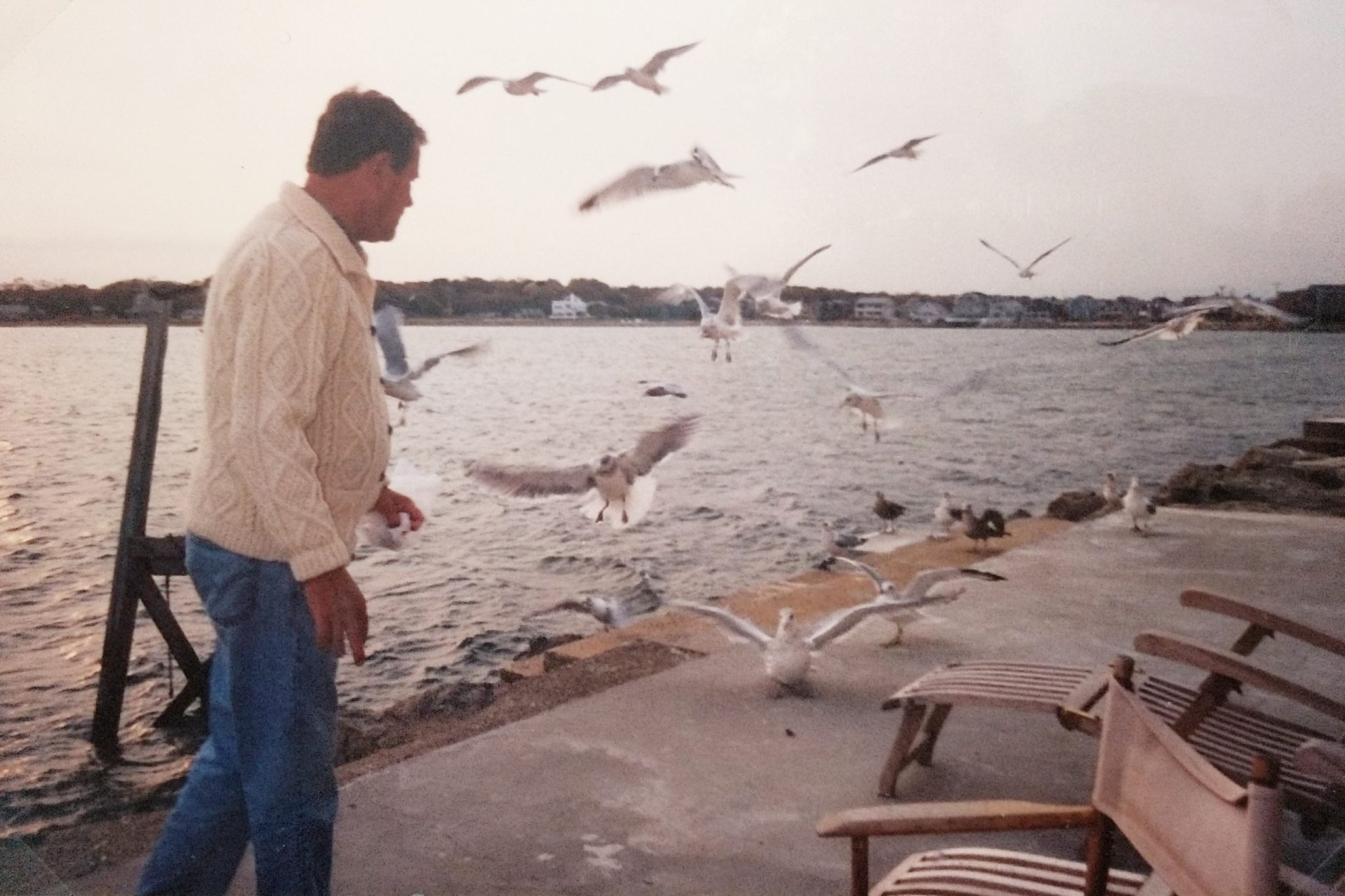 My Old Man and The Sea, Scituate Harbor - Finding Silver Pennies