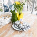 Watercolor Pansies Free Printable & Decoupaged Eggs