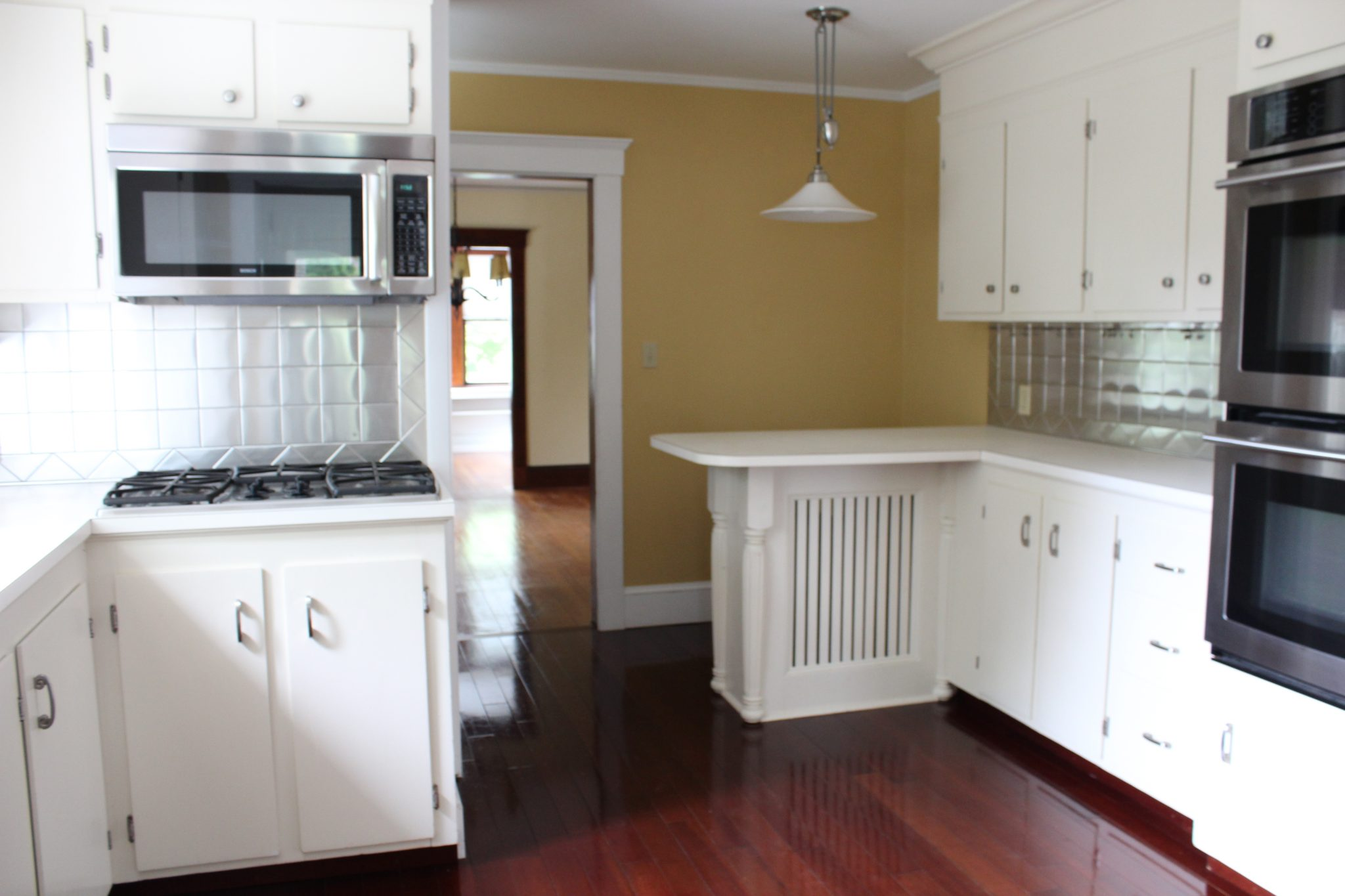 Kitchen BEFORE- Finding Silver Pennies