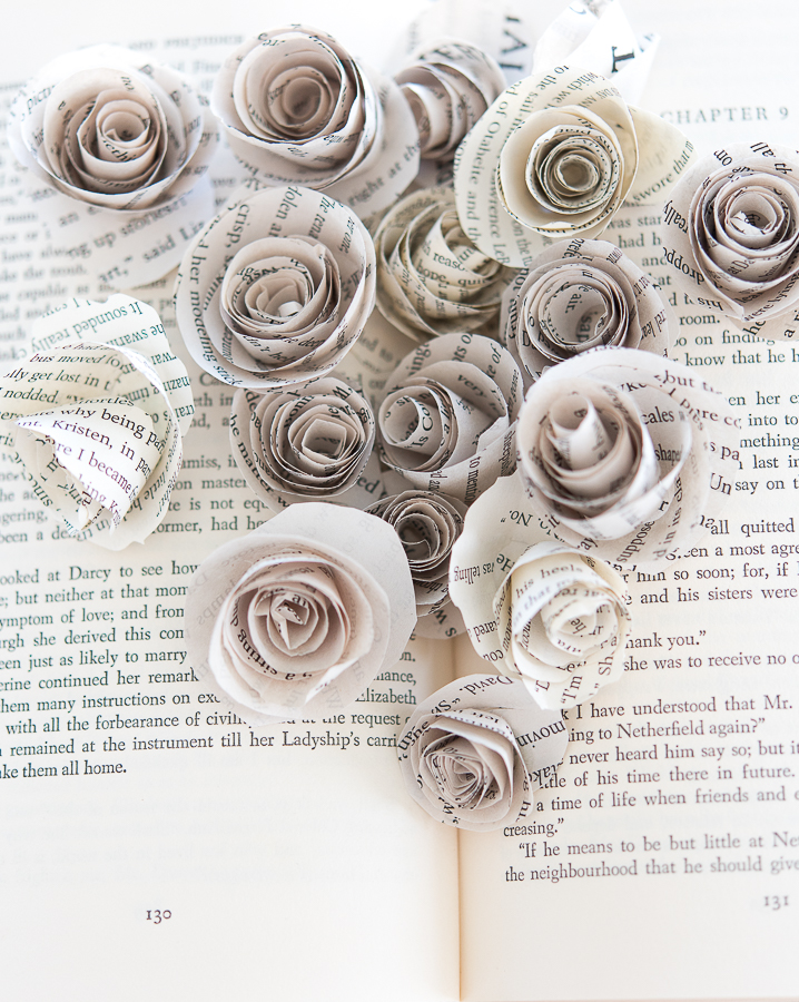 How To Make Paper Roses Finding Silver Pennies