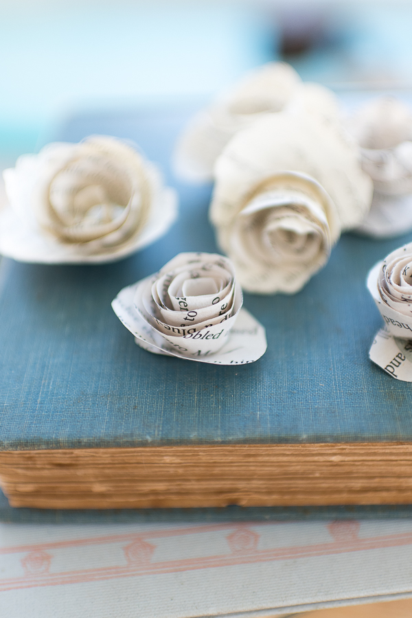 Pretty Paper Roses - Finding Silver Pennies