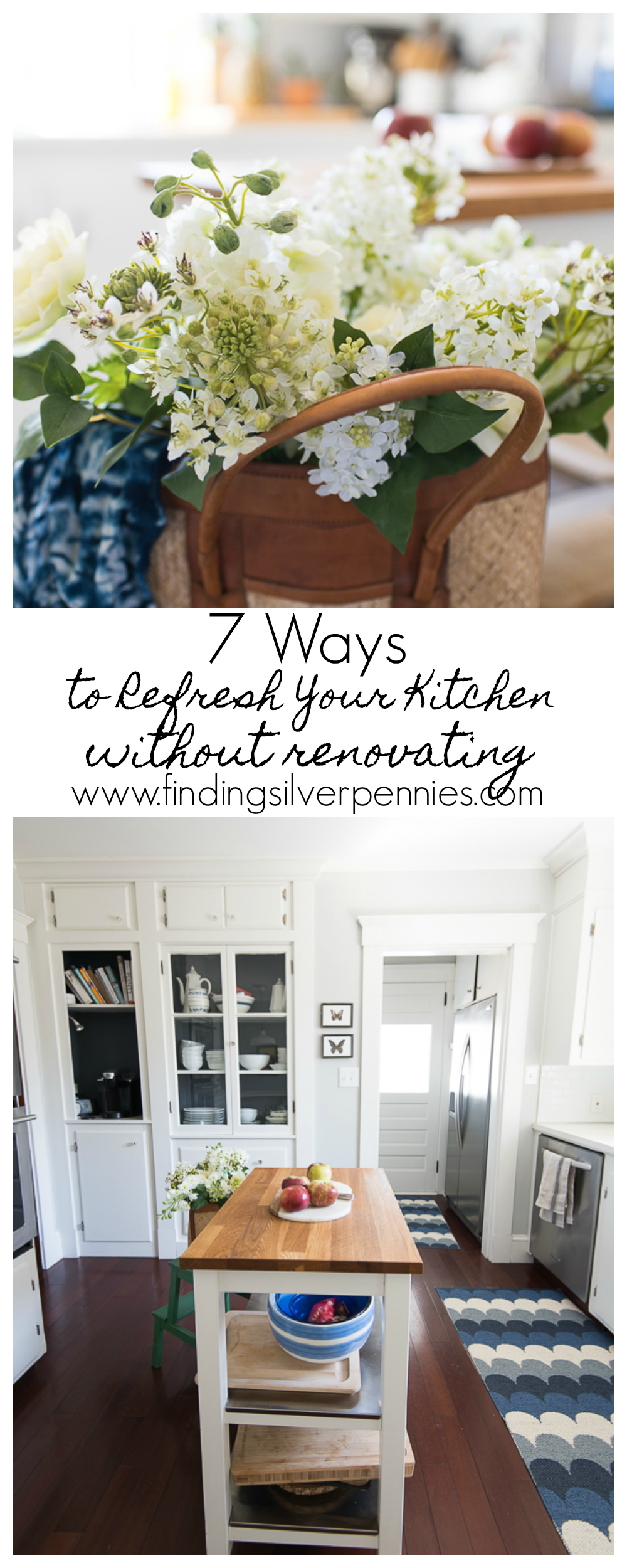 7 Ways to Refresh Your Kitchen Without Renovating - Finding Silver Pennies