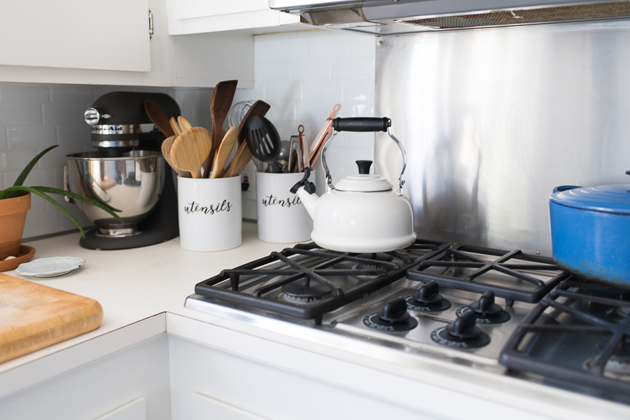Tidy Counters Make a Kitchen Feel Clean and Fresh - Finding Silver Pennies