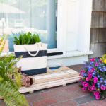 DIY Coastal Cedar Doormat