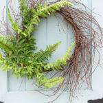 DIY Fern Wreath
