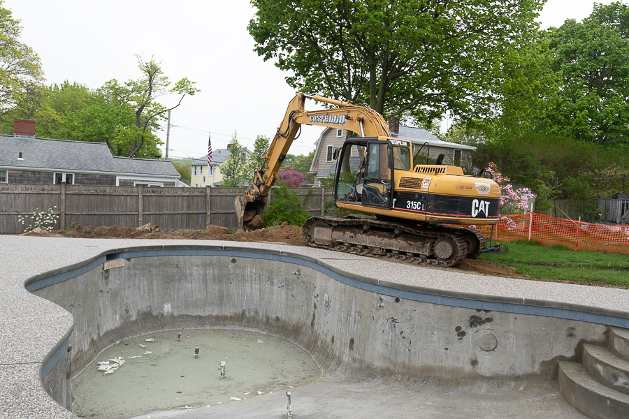 Pool Progress Fencing And Ground Work Finding Silver