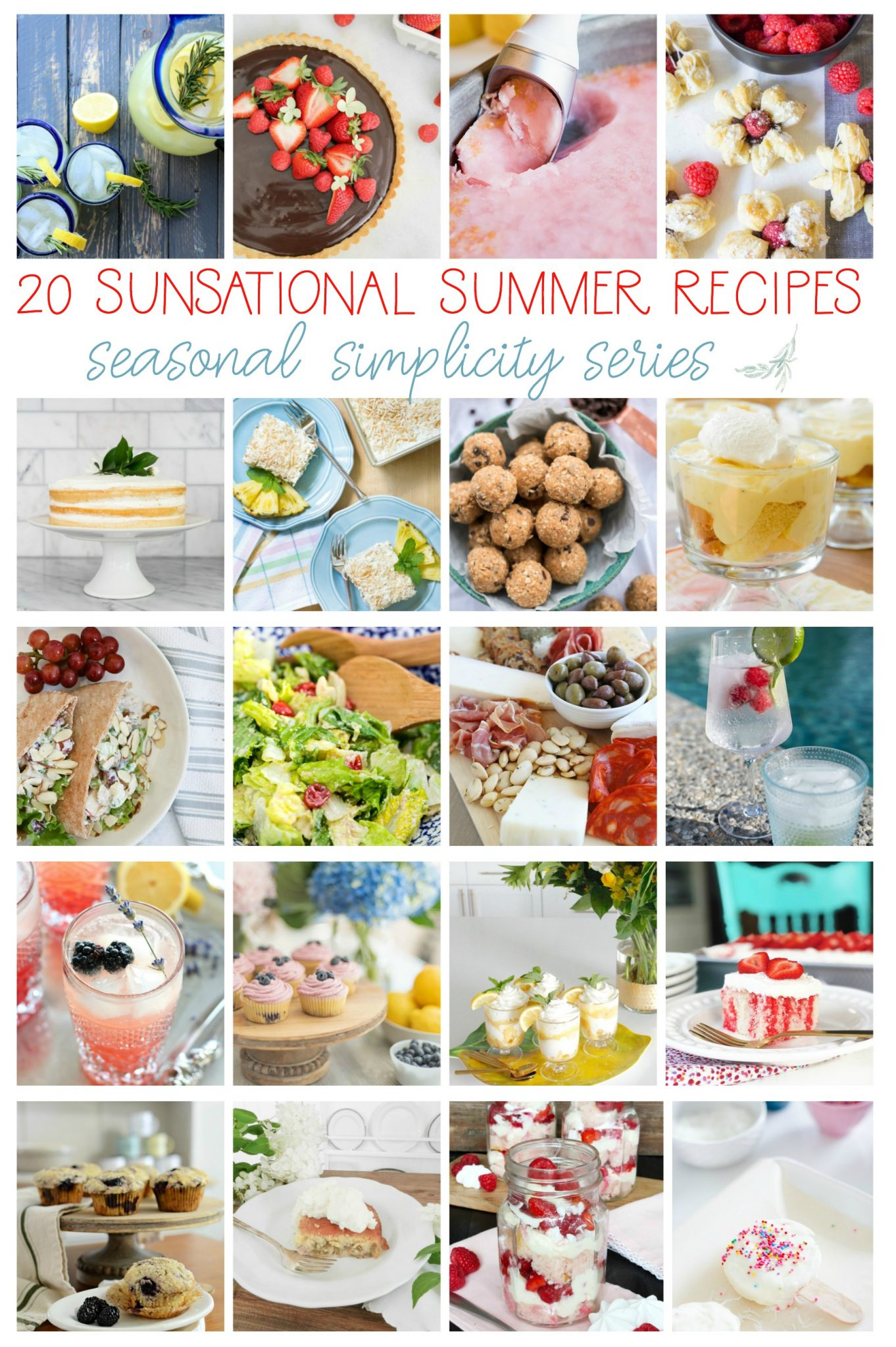 20 Sunsational Summer Recipes - Finding Silver Pennies