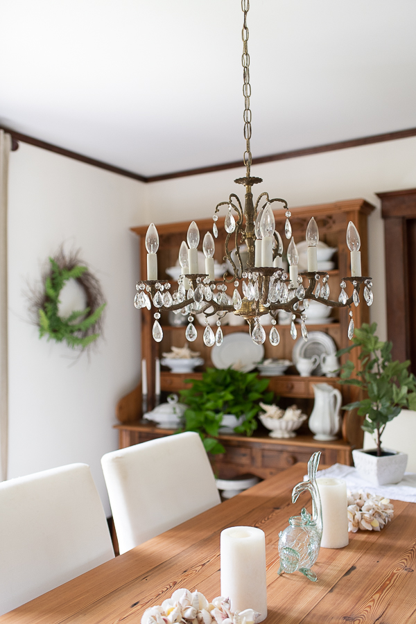 summer in the dining room - Finding Silver Pennies