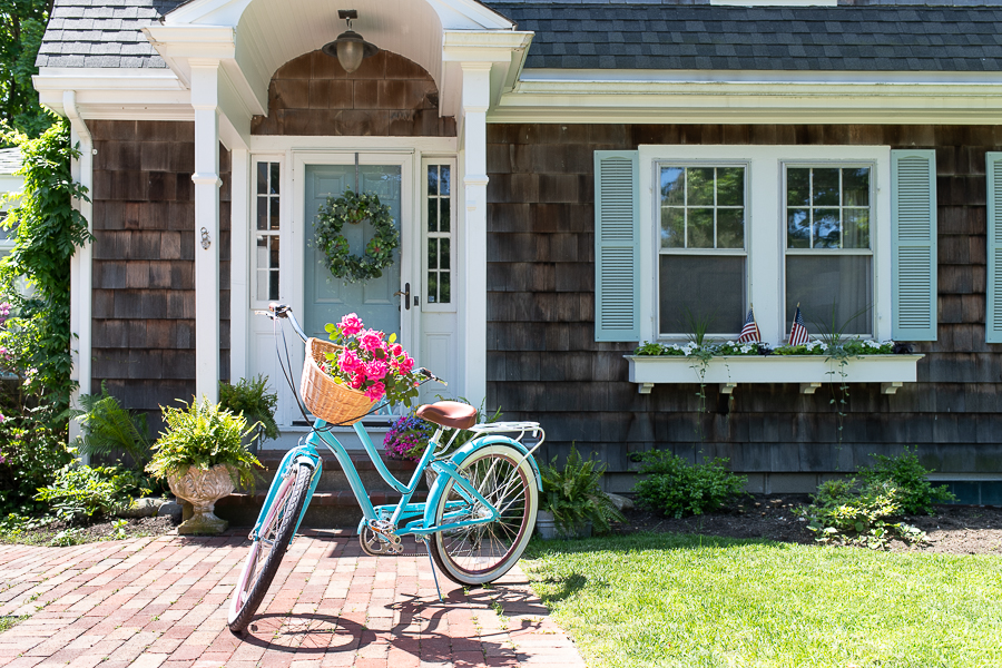 New England Coastal Style with a summer home tour - Finding Silver Pennies