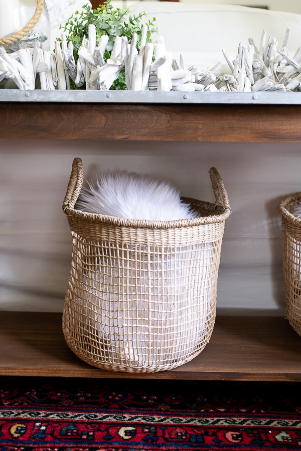 woven baskets - Finding Silver Pennies