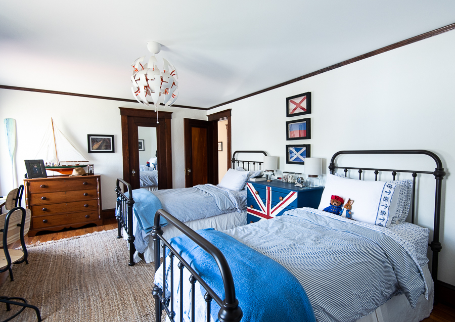 Seaside Bedroom For Boys Finding Silver Pennies