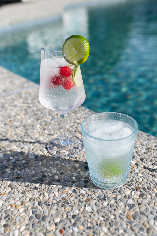 Refreshing Summer Keto Cocktails - Vodka Soda & Spiked Raspberry Lime Rickey - Finding Silver Pennies
