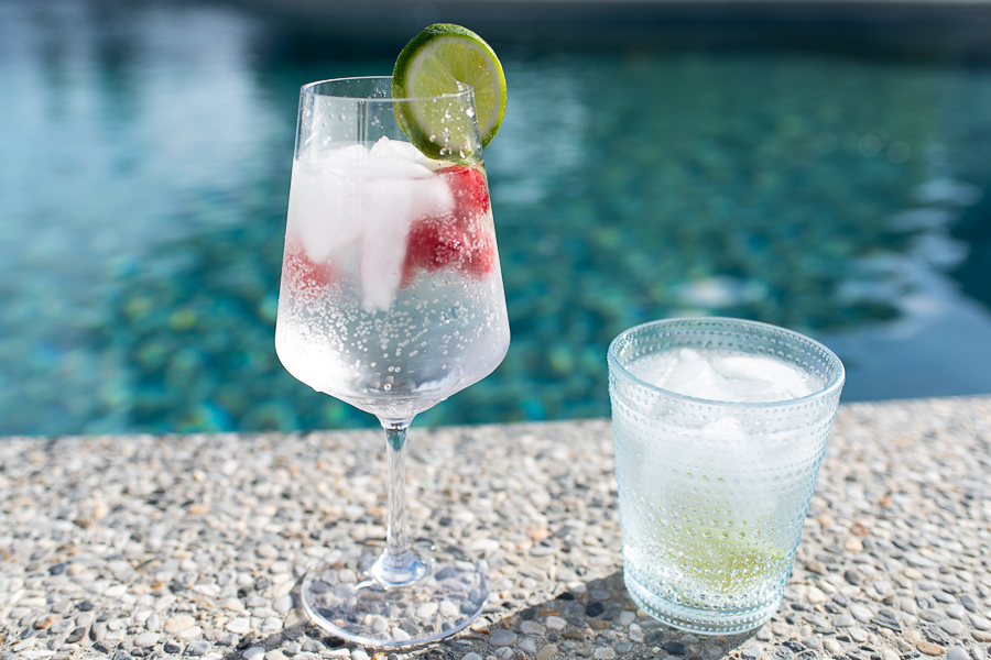 Summer Keto Cocktails by the Pool - Finding Silver Pennies