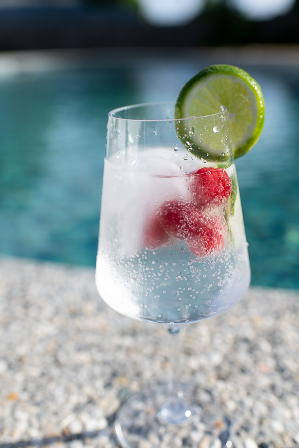 Grown Up Raspberry Lime Rickey - Finding Silver Pennies