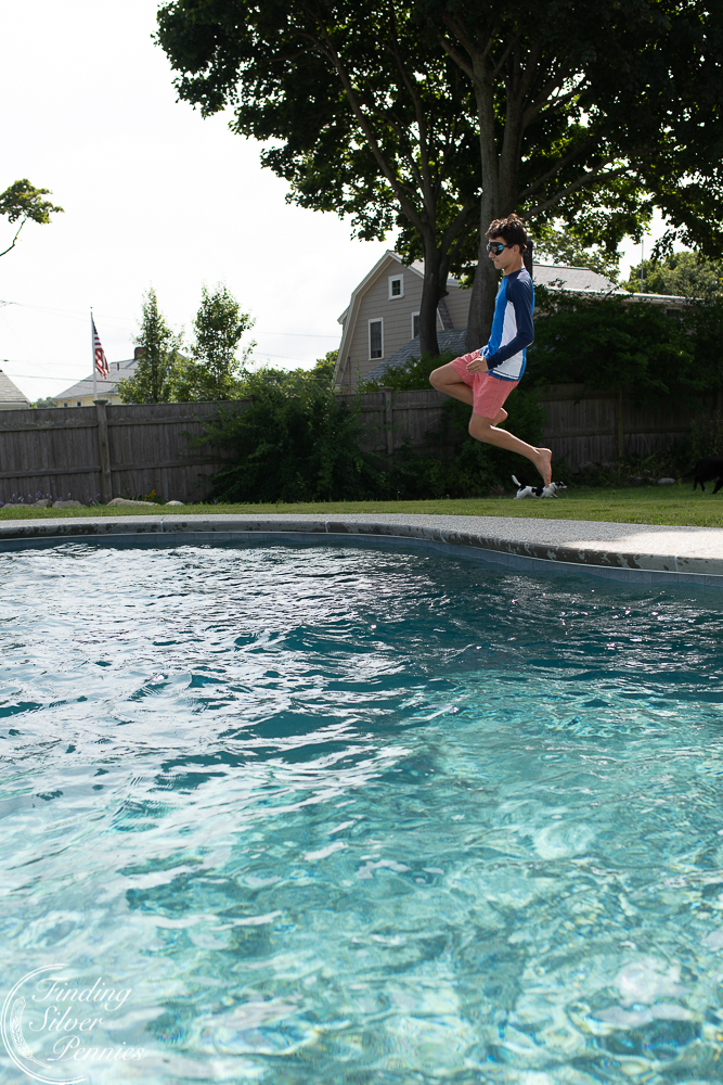 Jumping into our pool - Finding Silver Pennies