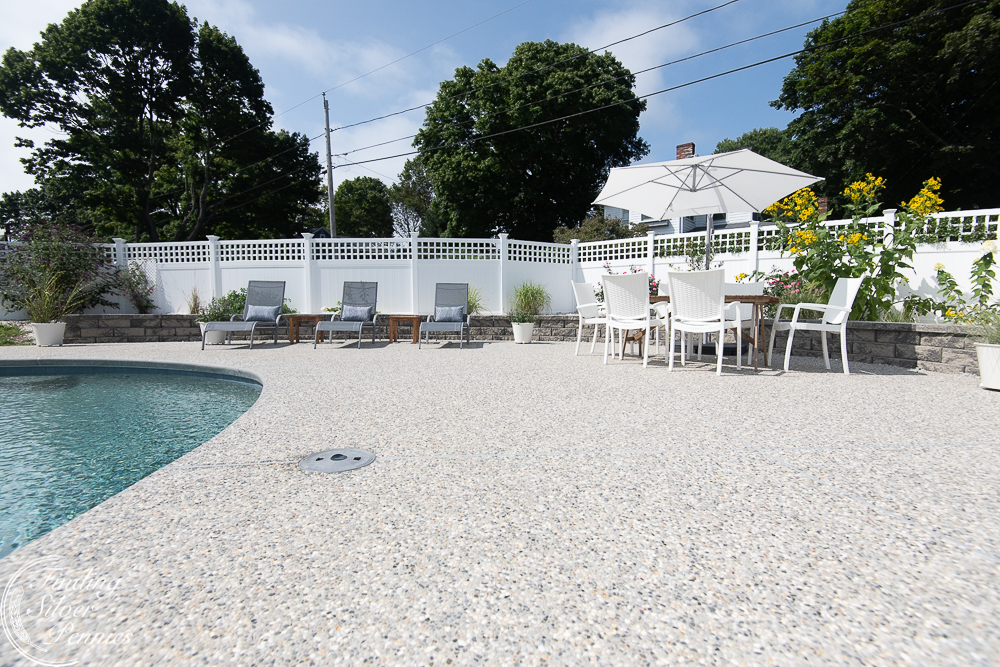 Affordable patio furniture and a pool reveal - Finding Silver Pennies
