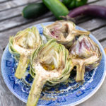 Grilled Artichokes & Evenings by the Pool (Cozy Living)