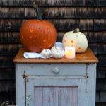 Polka Dot Pumpkin Lanterns