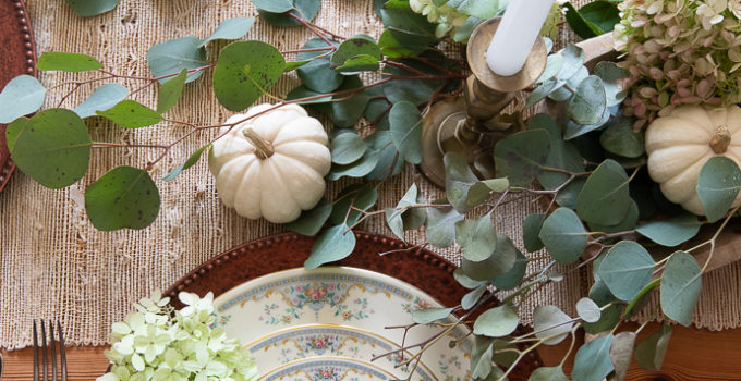 A Found and Foraged Tablescape