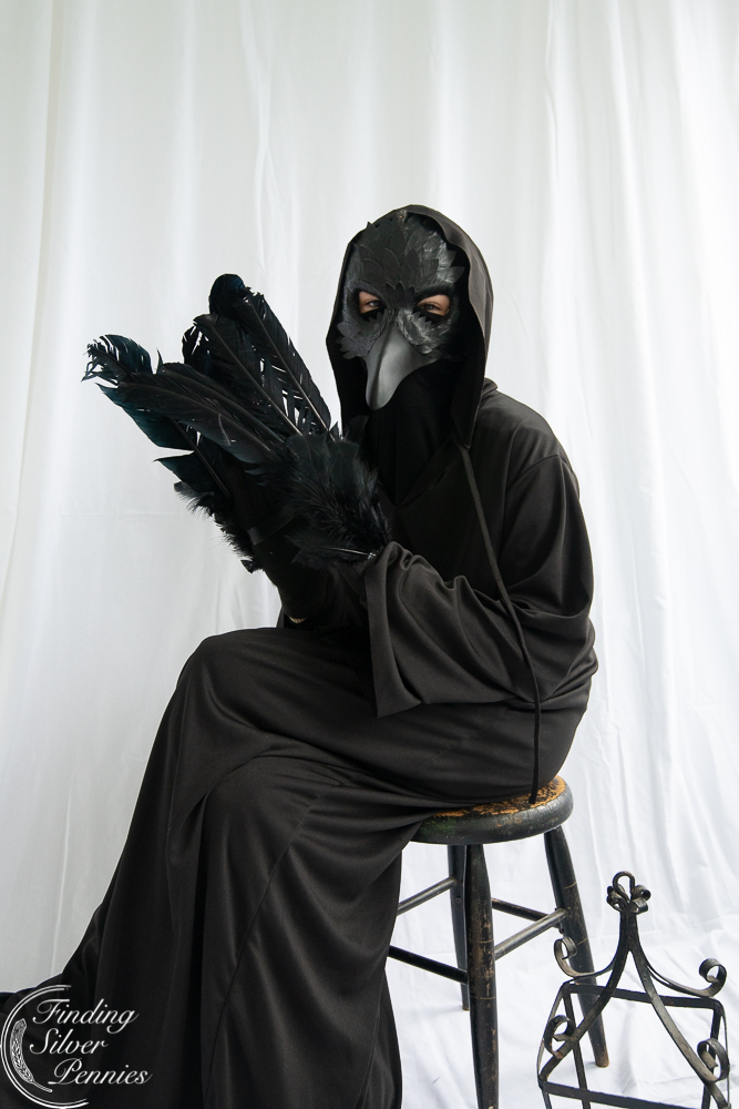 Diy Spooky Crow Costume Finding Silver Pennies