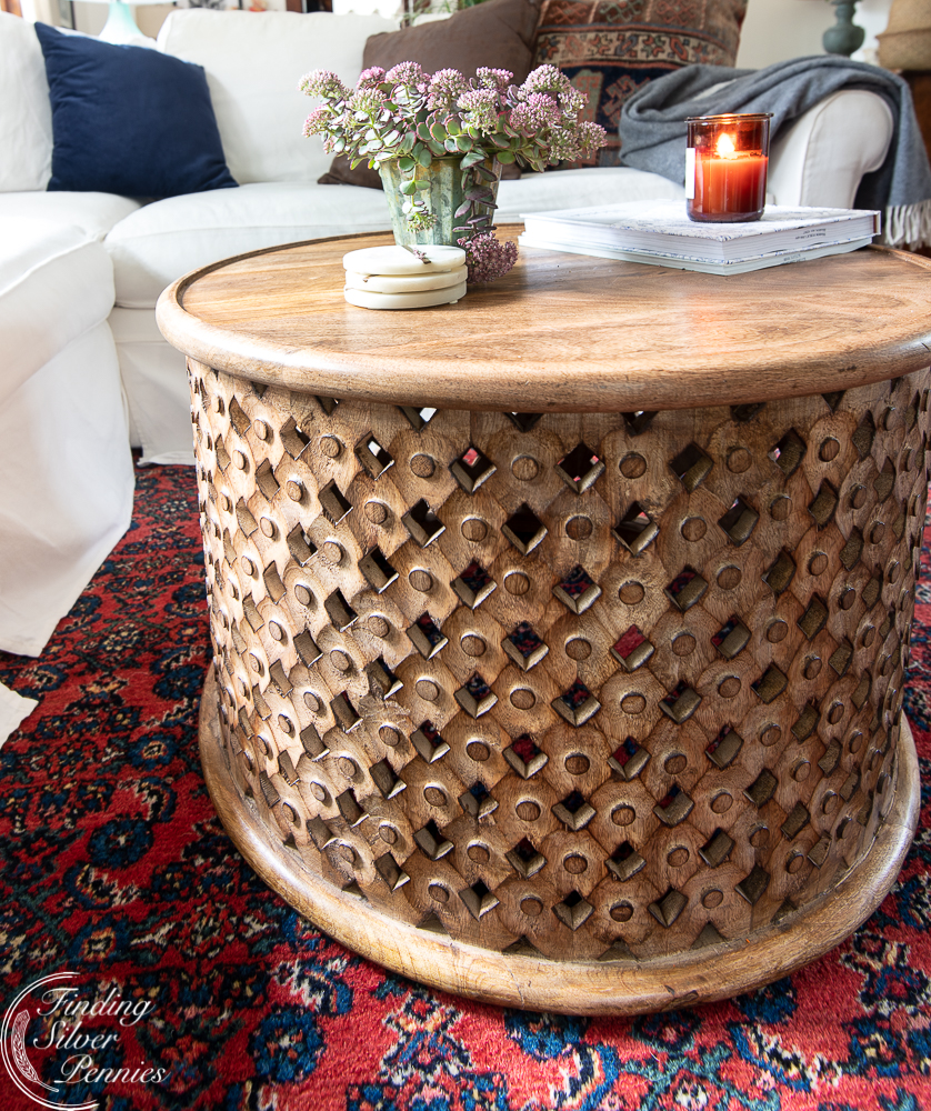 Phenomenal On Trend Round Coffee Tables Finding Silver Pennies Gmtry Best Dining Table And Chair Ideas Images Gmtryco