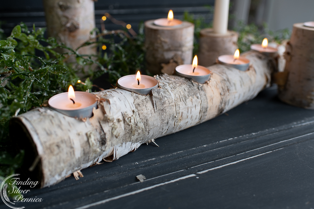 Tapered Candles Long Board Candles Wax Candles Gold and Silver Long Tip Candles