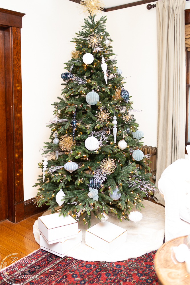 Our New Christmas Tree - Finding Silver Pennies